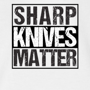 Skarpe Knive Matter Drunk Wives Matter - Teenager-T-shirt