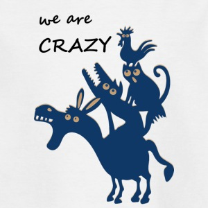 The crazy Bremen city musicians - Teenage T-shirt