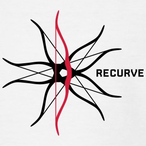 recurve Excentrisk - Teenager-T-shirt
