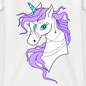 Unicorn Purple - T-shirt tonåring