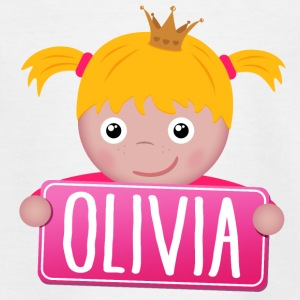 Little Princess Olivia - Teenage T-shirt