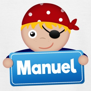 Little Pirate Manuel - Teenage T-shirt