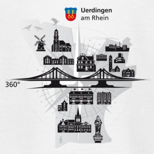 Uerdingen am Rhein 360 ° - Teenage T-shirt