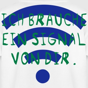 I need a signal from you - Teenage T-shirt