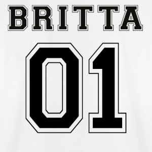 Britta 01 - Black Edition - T-shirt tonåring