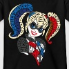 DC Super Hero Girls Harley Quinn Typographie - T-shirt Ado