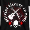 licence_to_rock_a - Teenage T-shirt