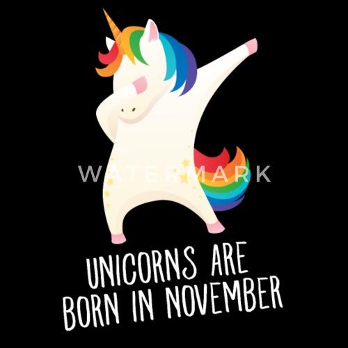 Unicorns Are Born In November