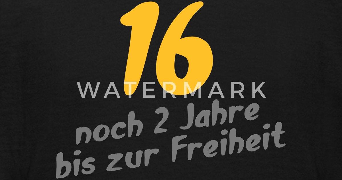 16 Jahre Geburtstag Geburtstags cool geil T-Shirt von Grafikfactory ...