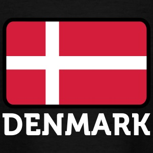 Danmarks nationale flag - Teenager-T-shirt