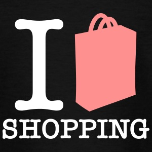 J'adore le shopping! - T-shirt Ado