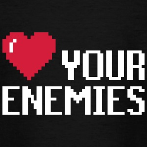 Kærlighed Enemies - Teenager-T-shirt