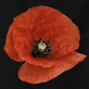 A Poppy Flower - Teenage T-shirt
