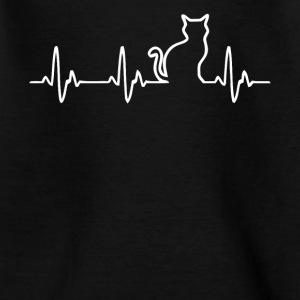 Chemise Cat in my heart - T-shirt Ado