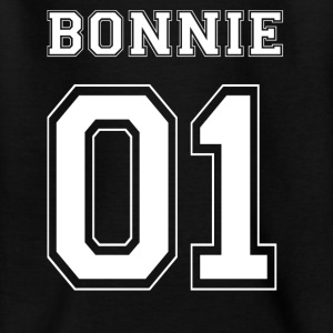 BONNIE 01 - Hvid Edition - Teenager-T-shirt