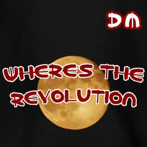 DM Where's The Revolution - Maglietta per ragazzi