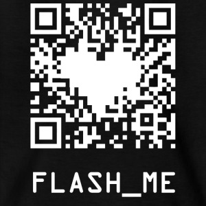 qrcode wite - Teenage T-shirt