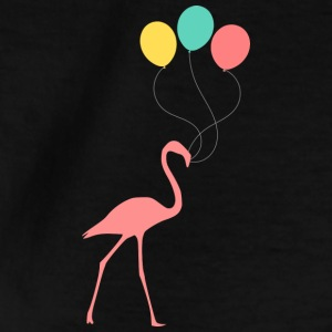 Flamingo with balloons - Teenage T-shirt