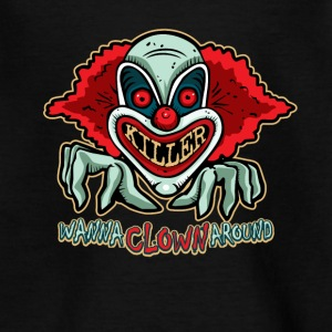 Killer Clown T-shirt - Teenager T-shirt