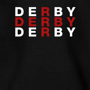 Derby Storbritannien Flag Shirt - Derby T-shirt - Teenager-T-shirt