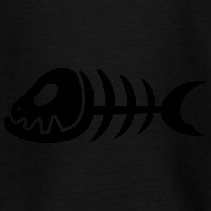BONE FISH Design - Teenager-T-shirt
