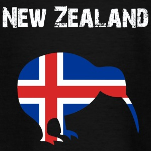 Nation-Design New Zealand Kiwi - Teenager T-Shirt