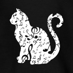 Music Cat Lover - Teenager T-shirt