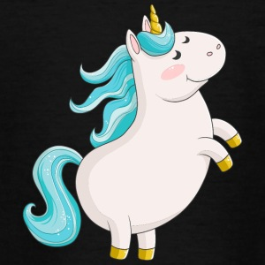 Sød tegneserie Unicorn - Teenager-T-shirt