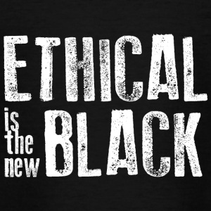 Ethical is the new black - Teenage T-shirt