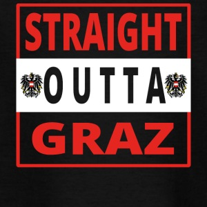 Lige outta Graz - Teenager-T-shirt