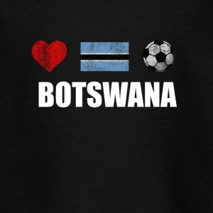 Botswana Football Shirt - Botswana Soccer Jersey - Teenager T-shirt