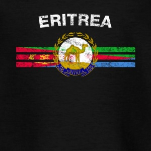 Eritreas Flag Shirt - Eritreas Emblem & Eritrea Fl - Teenager-T-shirt