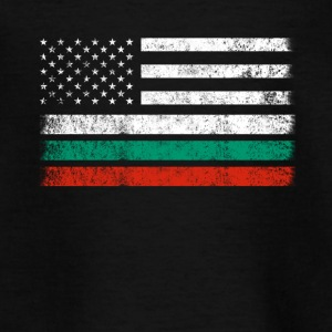 Bulgaarse Amerikaanse Vlag - de VS Bulgarije Shirt - Teenager T-shirt
