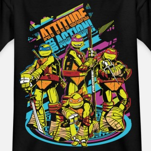 TMNT Turtles Attitude For Action