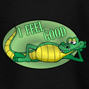 krokodille Alligator - Teenager-T-shirt