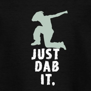 just dab it attitude touchdown krass funny humor L - Teenager T-Shirt
