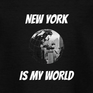 New York is mijn wereld NY - Teenager T-shirt