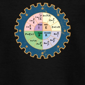 De wet van Ohm Diagram - Teenager T-shirt