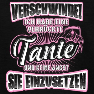 Verrückte Tante - Teenager T-Shirt