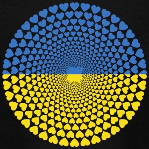 Ukraine Ukraine Україна Love HEART Mandala - Teenage T-shirt