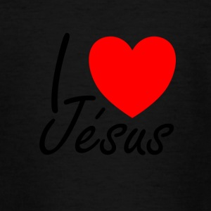 I love Jesus - T-shirt Ado