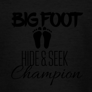 Big Foot Verstoppertje Champion - Teenager T-shirt
