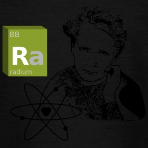 Marie Curie - radium - Teenage T-shirt
