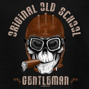 Gentleman 20-11 Old School original, cráneo fresco - Camiseta adolescente