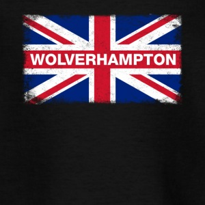 Wolverhampton Shirt Vintage United Kingdom Flag - Teenage T-shirt