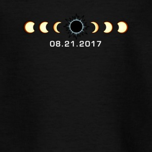 Total solformørkelse 21 august 2017 T Shirt - Teenager-T-shirt