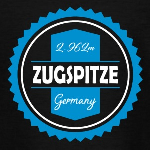 Zugspitze Coaster Blauw-Wit | Beieren - Teenager T-shirt