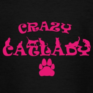 CRAZY PINK Catlady - Teenager-T-shirt