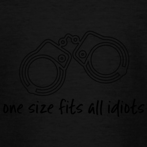 Police: Taille unique Idiots - T-shirt Ado