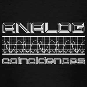 Logo Analog Coincidences - Teenage T-shirt